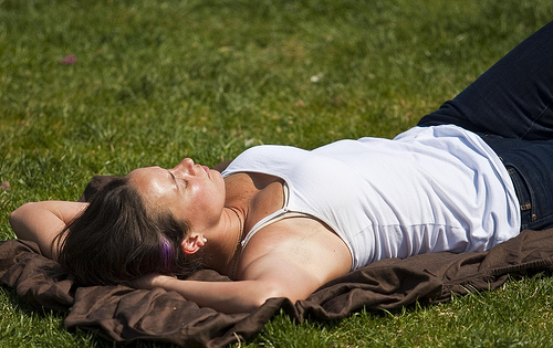 photo credit: Sleeping in the Park via photopin (license)